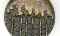 Front / Obverse of Medal Commemorating the Paneria (Ponary Forest) Massacre near Vilna