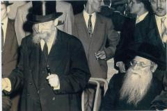Rabbi Eliezer Silver at Unidentified Wedding