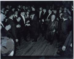 Rabbi Eliezer Silver Dancing at Unidentified Wedding