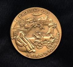 In Memory of Polish Jewry Medal