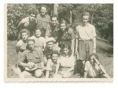 Pictures of the Mizrachi Chapter in Nitra, Slovakia prior to WWII