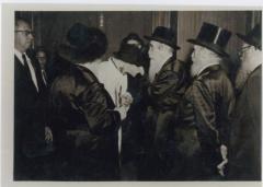 Rabbi Eliezer Silver at Unidentified Wedding