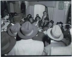 Rabbi Eliezer Silver Speaking at Unidentified Event