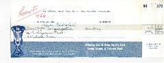 Orthodox Jewish Home for the Aged (Cincinnati, Ohio) - Contribution Receipt from 1966, 1967 & 1968