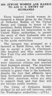 Goodbye Banquet for Rabbi Silver 10/16/1931