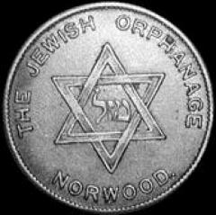 Norwood Jewish Orphanage Token