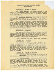 Regulations of the Kneseth Israel Congregation (Cincinnati, Ohio) - 1922 Version