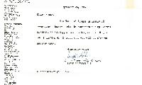 Adath Israel Congregation Letter from Joseph Katz, September 24, 1962