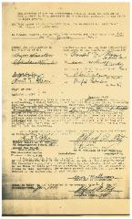 Cemetery Agreement by and between New Hope Congregation, Yad Charutzim and Congregation Sons of Abraham [Cincinnati, Ohio]