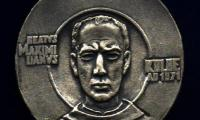 Medal in Memory Catholic Priest Maximilian Kolbe who was Killed in Auschwitz Front/Obverse