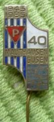 1985 Mauthausen Memorial Pin #3 for 40th Anniversary of the Camp Liberation