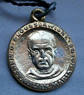 Maximilian Kolbe Commemorative Medallion Front/Obverse