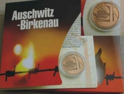 Medal Commemorating 60th Anniversary of the Liberation of the Concentration Camp Auschwitz - Birkenau