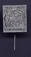 Ravensbruck 30th Anniversary of Liberation Commemorative Pin from 1975