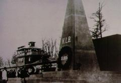 Picture of First Buchenwald Monument erected in 1945