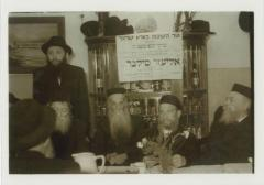 Rabbi Silver during his trip to Israel