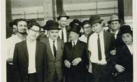 Rabbi Silver Walking with Mike Tress or Rabbi Indich