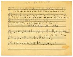 German Jewish Melodies as Transcribed by Manfred Rabenstein