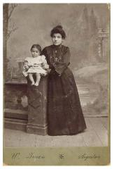 Photograph of Anne Berlov Morris and Her Mother, Michelle Kovinsky Berlov