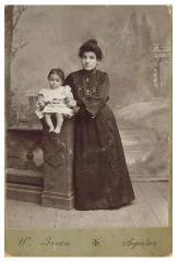 Photograph of Anne Berlov Morris and Her Mother, Michelle Kovinsky Berlov