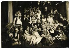 Photograph of Masked Ball in Scharlacks Apartment in Frankfurt AM, Germany