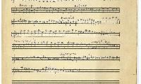 """Sheet Music in the German Minhag: """"Judisches Potpurri"""" Page 1"""