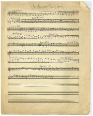 "Sheet Music in the German Minhag: ""Judisches Potpurri"""