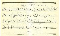 "Sheet Music in the German Minhag: ""Melodies for Birkas Hakauhanim"""
