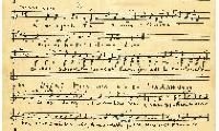 "Sheet Music in the German Minhag: ""Waihi Binssoa wie am Sabbath dann"" Page 1"