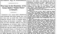 """Cincinnati Enquirer, """"Synagogue Invaded By a Constable,"""" article from 1/31/1899"""
