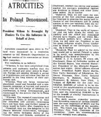 Article Regarding Final Resolutions of Mizrachi Association at its Final Session of 1919 National Convention in Cincinnati