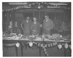 Photograph of Chanukkah Celebration in Da Nang Vietnam 1965