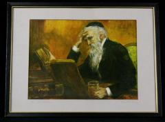 """""""The Old Scholar"""" by Martha More"""