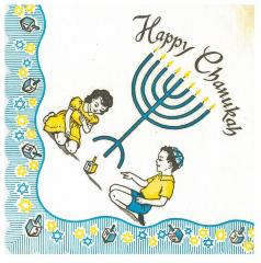 Chanukah Napkins