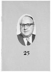 Rabbi Fishel J. Goldfeder 25th Anniversary Booklet - Adath Israel Congregation, Cincinnati, Ohio