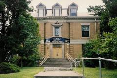 Photograph of the Exterior of the North Avondale Synagogue (Yad Charutzim-Tiferes Israel), Cincinnati, Ohio