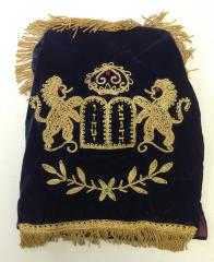Torah Cover / Mantle from Miami University Hillel