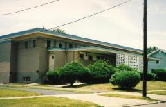 Photographs of the Exterior of the Kneseth Israel Synagogue (Section Road Location), Cincinnati, Ohio