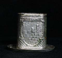 Matchbox Holder for Havdalah formerly used in Kneseth Israel Congregation (Cincinnati, Ohio)