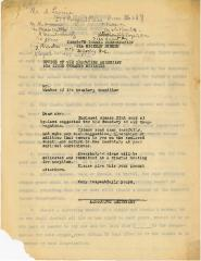 By-laws of the Kneseth Israel Cemetery from 1922
