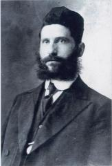 Picture of a young Rabbi Eliezer Silver