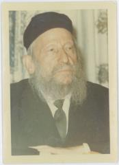 Portrait Photograph of Rabbi Eliezer Silver