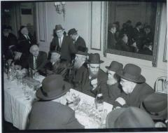 Rabbi Eliezer Silver at the Wedding of Rabbi Shmuel Akiva Schlesinger