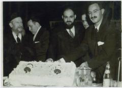 Rabbi Eliezer Silver at an Unidentified Mesibah