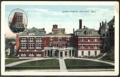 Jewish Hospital of Cincinnati Postcard