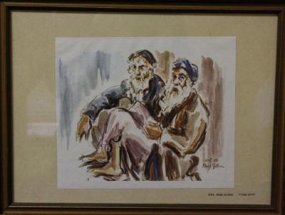 """Jews from Algiers"" by David Gelboa"