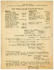 Annual Report for 1938 of the VAAD Ho'ier of Cincinnati, Ohio (The Union of Orthodox Jewish Congregations of Greater Cincinnati)