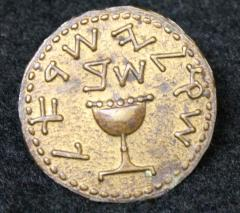 Reproduction of the False Shekel from the Zionist Organization of America