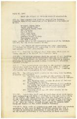Rules and By-Laws of the Covedale Cemetery Association - April 15, 1942 Version