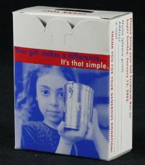 Jewish Federation of Cincinnati 2002 Tzedakah / Charity Box
